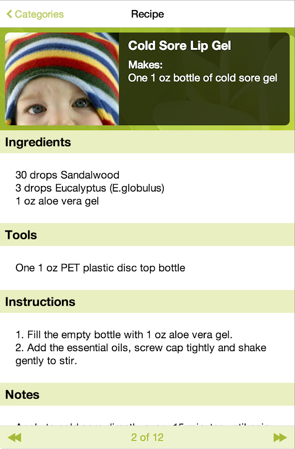 Natural Remedies - screenshot