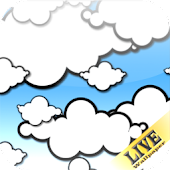 Cartoon Clouds Live Wallpaper