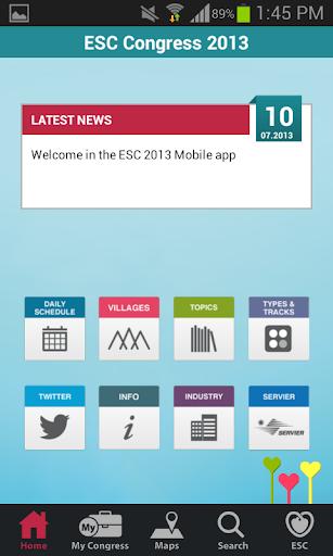 【免費醫療App】ESC 2013-APP點子