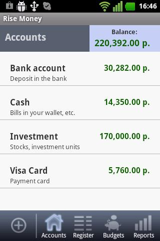 Rise Money Free- screenshot
