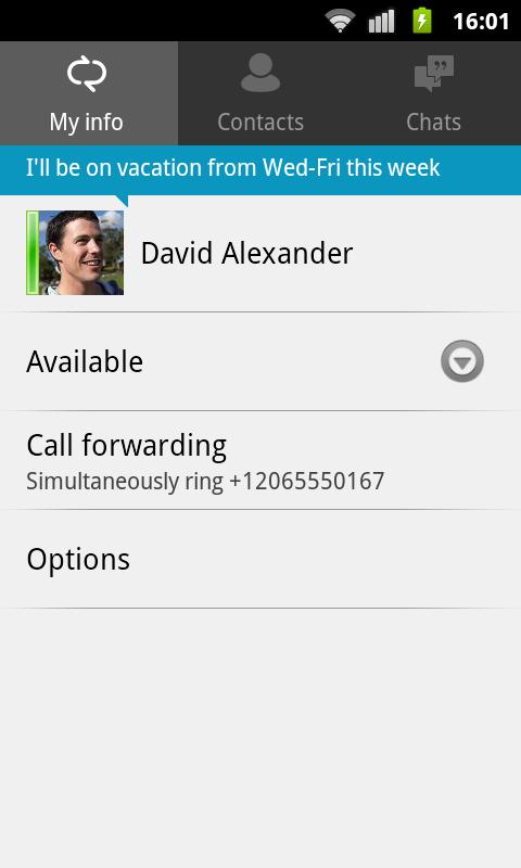 Lync 2010 - screenshot