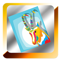Farm animals coloring icon