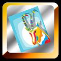 Farm animals coloring icon
