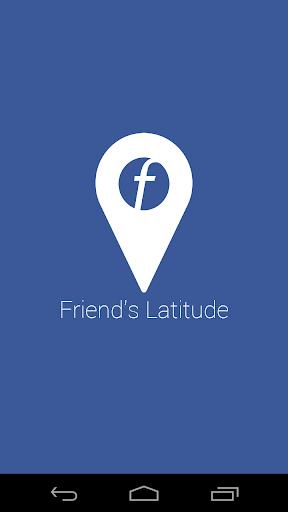 Friend's Latitude for Facebook