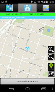 AndLocation Coordinates GPS - screenshot thumbnail
