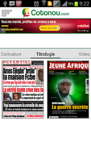 aCotonou.com - screenshot thumbnail