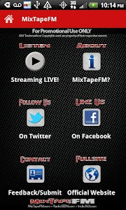 MixTapeFM™  HipHop & RnB Radio screenshot 0