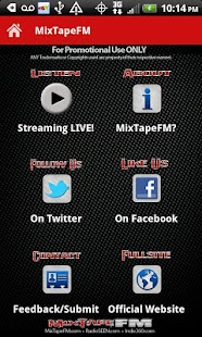 MixTapeFM™  HipHop & RnB Radio- screenshot thumbnail