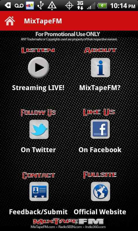 MixTapeFM™  HipHop & RnB Radio- screenshot