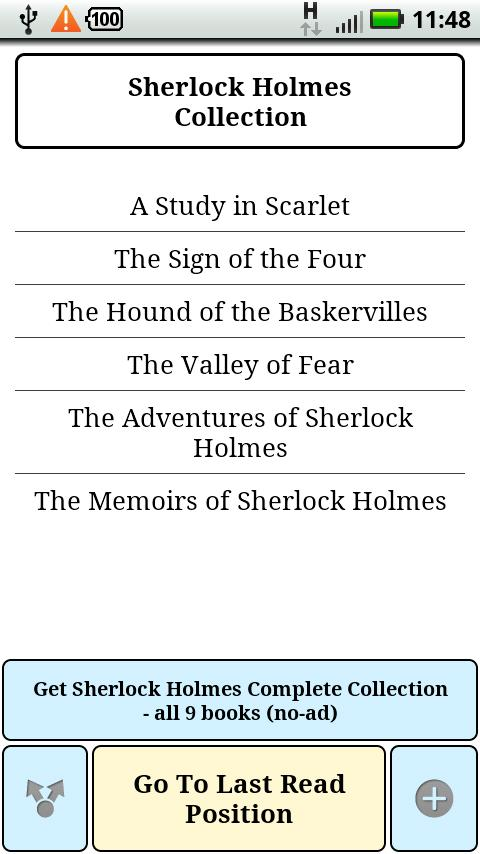 Sherlock Holmes Collection - screenshot