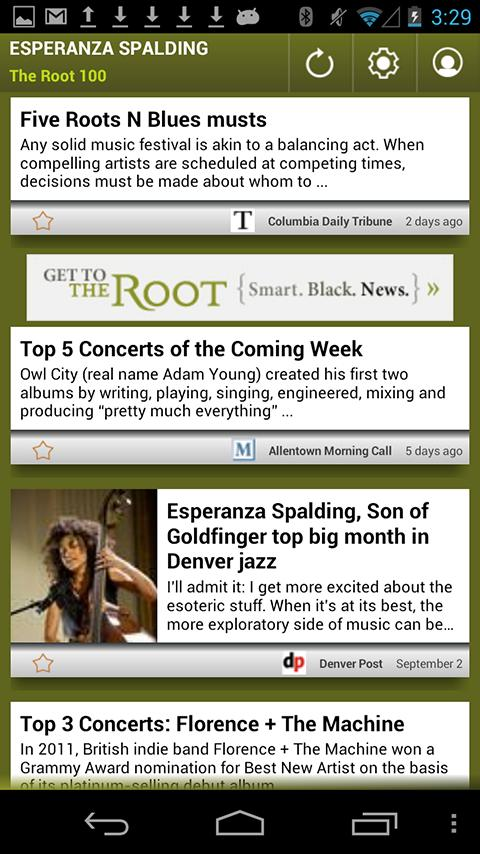 Esperanza Spalding: The Root - screenshot