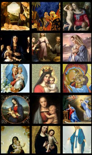 Virgin Mary HD Wallpaper