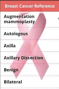 Breast Cancer Glossary- screenshot thumbnail
