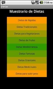 Dietas para Perdida de  Peso - screenshot thumbnail