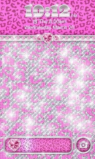 ☀ BLING Pink Leopard Locker ☀