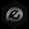 EvolveSMS Theme Minimus Black icon