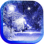 Snowfall Frost live wallpaper