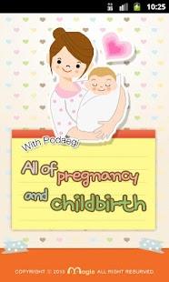 All of pregnancy childbirth