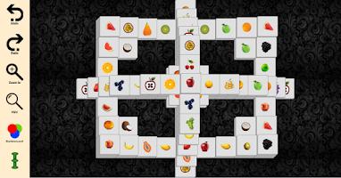 Screenshot of Mahjong solitair (Fruit)