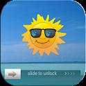 Go Locker theme  Beach logo