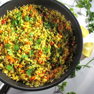Vegetarian Paella.