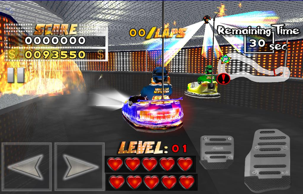 Bumper Car Destruction- screenshot