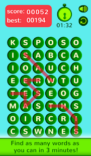 WordLink - boggle word search- screenshot thumbnail