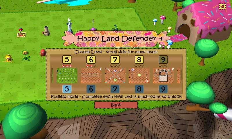 Happy Land Defender+- screenshot