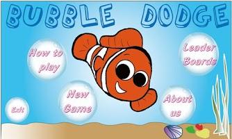 Screenshot of BubbleDodge