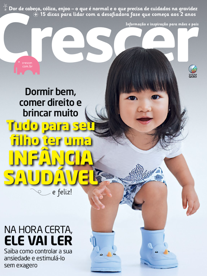 Revista Crescer Digital - screenshot