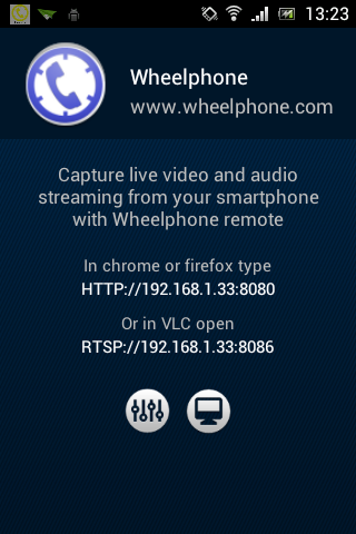 Wheelphone remote