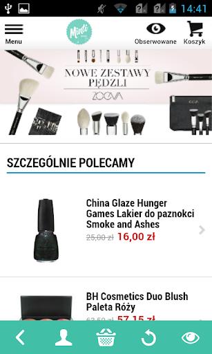 Minti Shop screenshot