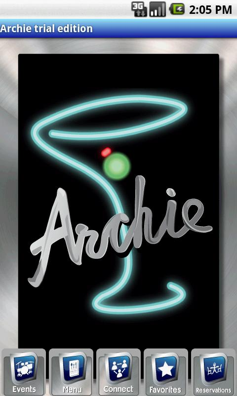 Archie - screenshot