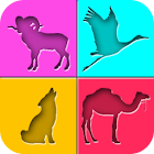 Animal Quiz Game for Kids icon