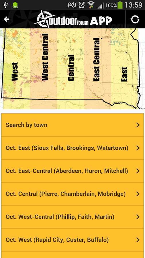 Outdoor forum hunt fish sd android apps on google play for Hunting and fishing apps