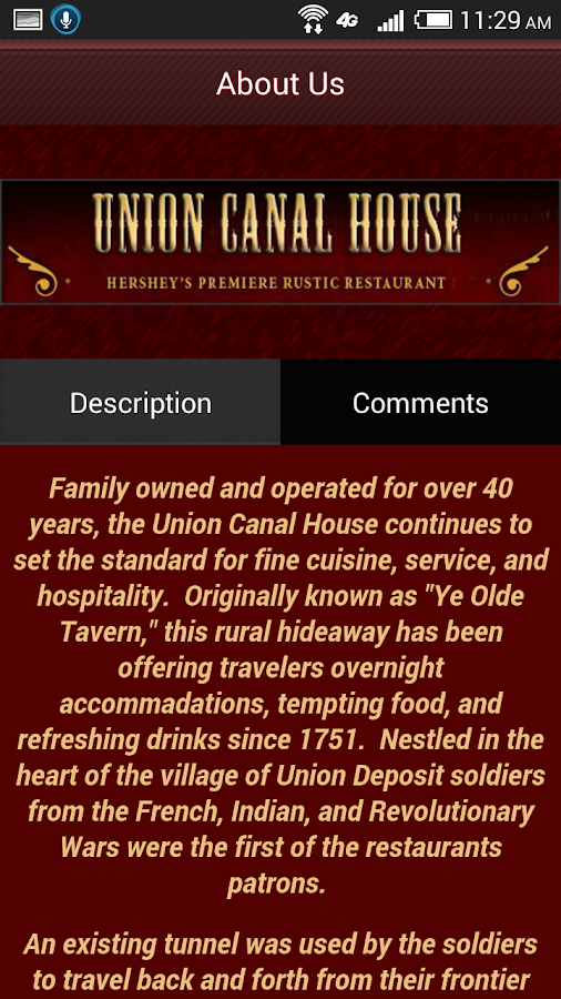 Union Canal House- screenshot