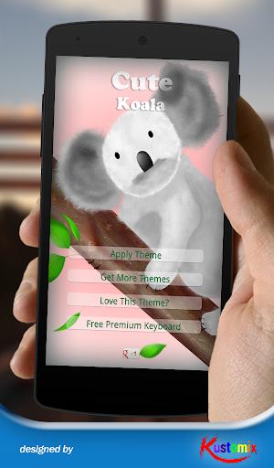 Cute Koala Keyboard