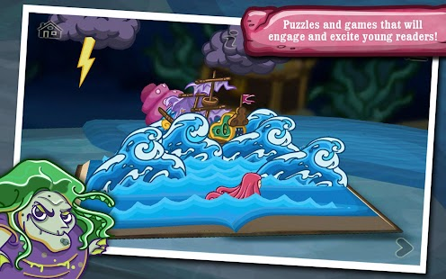 The Little Mermaid ~ 3D Interactive Pop-up Book- screenshot thumbnail