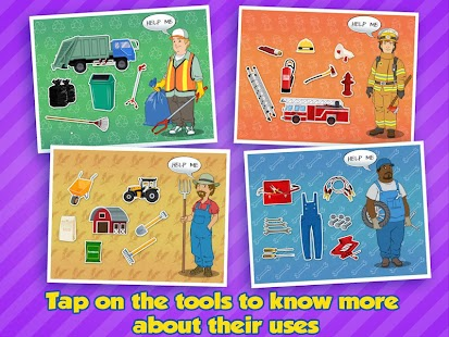Community Helpers - Kids App screenshot