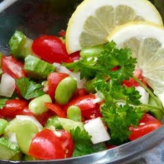 Fava Bean Salad.