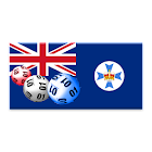 Queensland winning numbers icon
