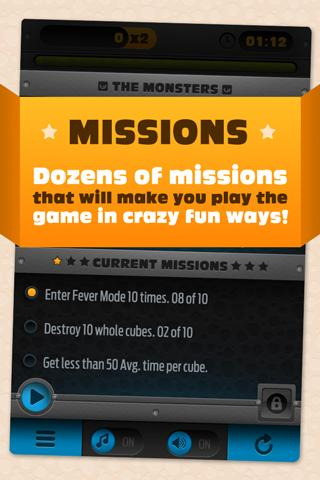 Monster Cube Free - screenshot