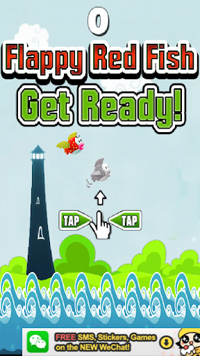 Flappy Red Fish