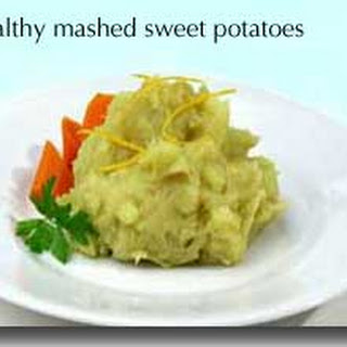 Healthy Mashed Sweet Potatoes.