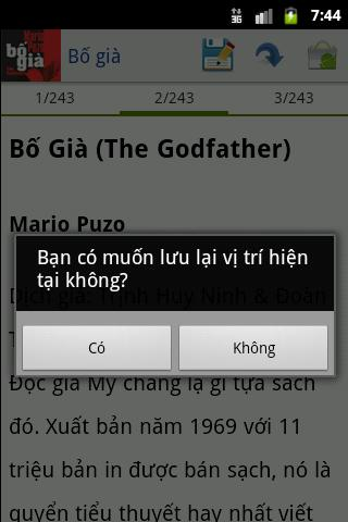 Bo gia - The Godfather (full) - screenshot