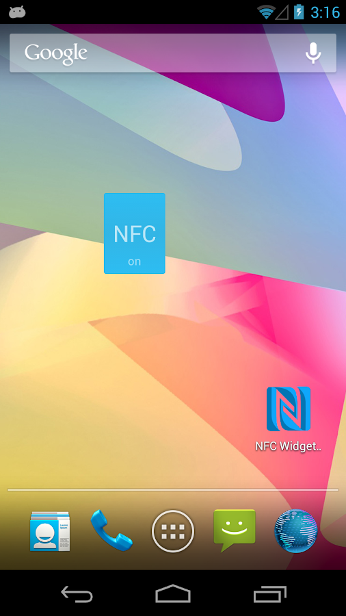NFC Widget- screenshot