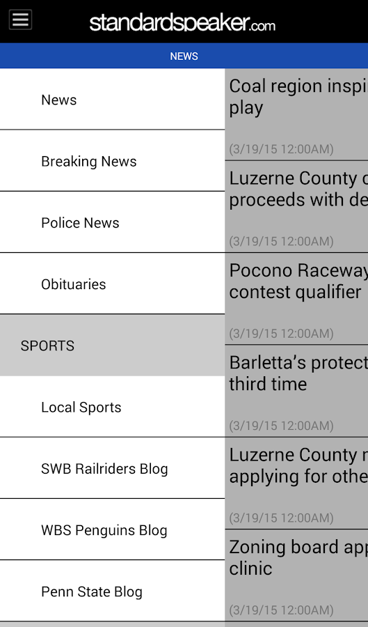 The Hazleton Standard-Speaker- screenshot