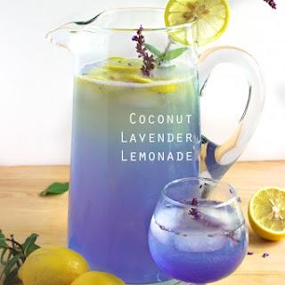 Coconut Lavender Lemonade.