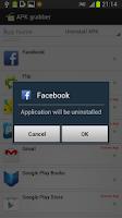 Screenshot of App/APK Extractor