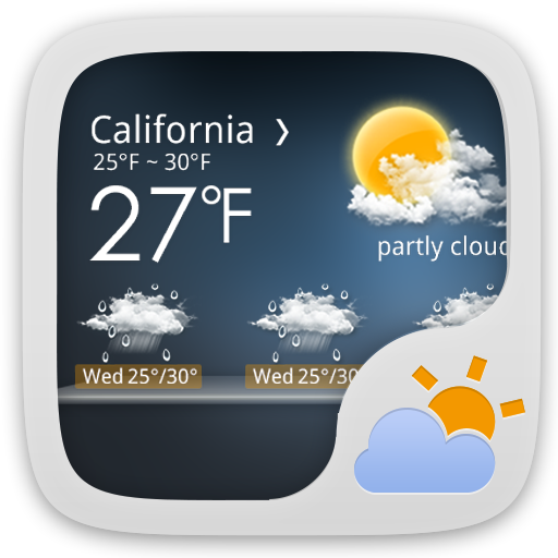 Moon Light GO Weather EX 天氣 App LOGO-硬是要APP